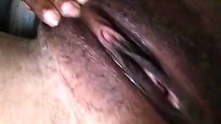 My Ex Rubbing Her Sweet Pussy For Me