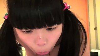 Jav Amateur Ikumi Buxom Teen Cute Does BJ And Gets Deep
