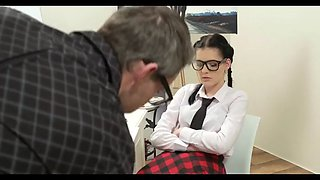 clueless cute school girl gets fucked for the first time-wat