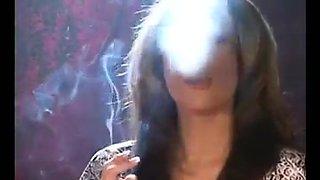 Smoking courtney and friend