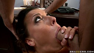 James Deen and Rachel Starr are fucking with force