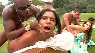Big Bubble Butt Brazilian Orgy 6 CD2