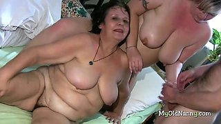 Grannies get lucky with each other
