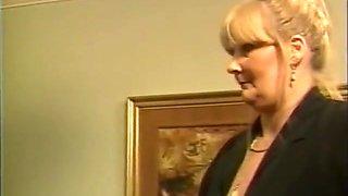 Vintage British girls enjoy a spanking
