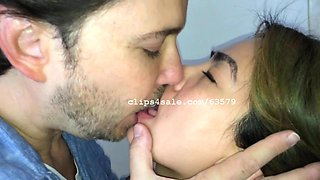 Sean and Lily Kissing Video 2