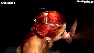 cum loving redhead needs more cocks with cum
