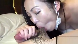 Japan milf with big tits with milk