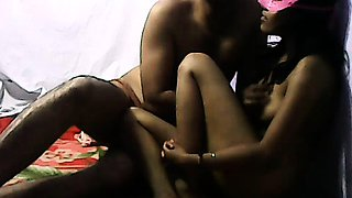 Dark Skin Sexy Indian College Girl Homemade
