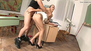 liz valery - anal with janitor