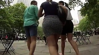 Striking amateur babes with perfect asses voyeur compilation
