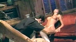 Incredible reverse gangbang session with three insatiable ladies