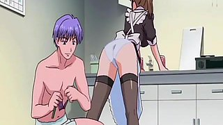 Young Maid Gets Fucked