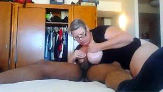 Fucking my corpulent breasty gf