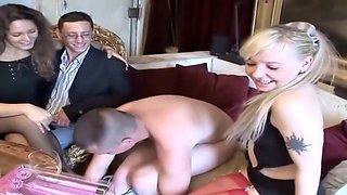 2 couples amateurs français s'amusent - amateurs french foursome