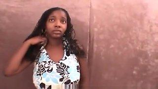 Slave Brunette Girl