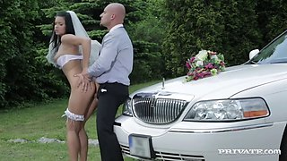 victoria blaze here cums the bride