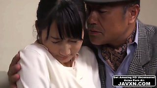 Shy Japanese Babe Gets Fucked By Her Boss