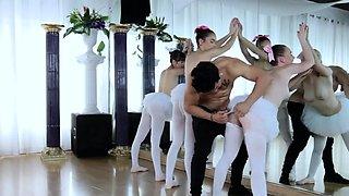 My boss seduce me xxx Ballerinas