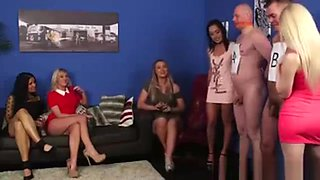 Cfnm Guy Get Handjobs From Group Of British Girls