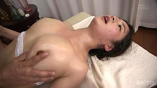 Meguri in Meguri Gets A Rub Down - MilfsInJapan