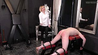 english mistress harsh dressage whipping