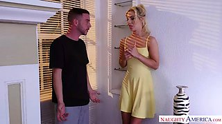 Horny bella rose fucks her friends brother undercover