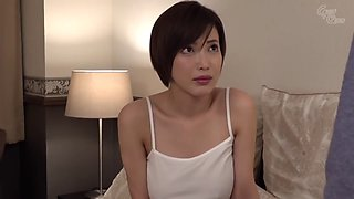 Super hot jav Japanese milf babe banging virgin