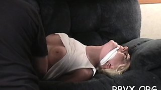 Large dude bounds and gets rough with a horny bitch