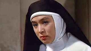 Hot brunette asian nun gets rough seduced by pastor