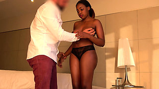 Incredibly Hot African Girl Fucked and Facialized