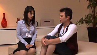Exotic Japanese girl Mau Morikawa, Ai Wakana, Yuuha Sakai in Amazing Blowjob, Fingering JAV clip