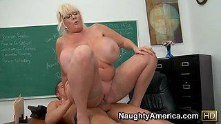 Kayla Kleevage & Chris Johnson in My First Sex Teacher