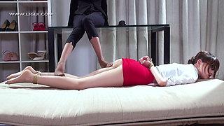 Chinese Secretary – cosplay lesbian bdsm