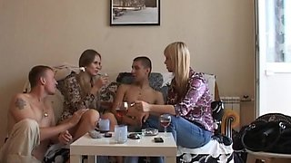 Ester in couples doing sex in a lustful orgy video