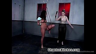 busty slave eva gets whipped hard