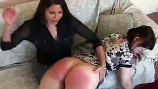 Secretary gets spanked
