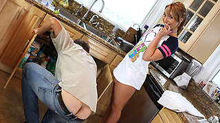 Hannah West in Don't Tell My Wife I Assfucked the Babysitter #02, Scene #03
