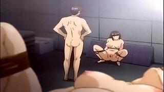 big tits anime mother fucked hard by group trap
