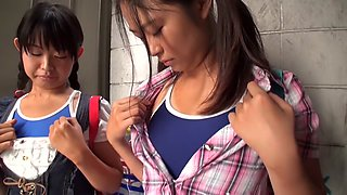 Amazing Japanese slut in Crazy JAV censored Small Tits, College clip