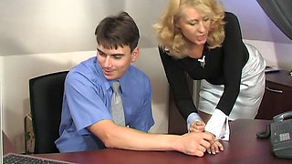 Young Boy Fuck Mature Boss