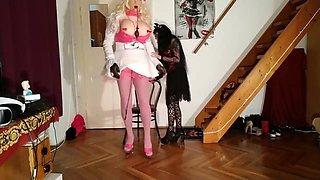 Beth Kinky - Goth domina abuse & fuck huge living barbi fuck doll pt2 HD