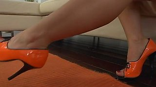 footjob is about to end up with jizz video feature 1