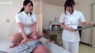 Japanese hospital nurse fucks 6