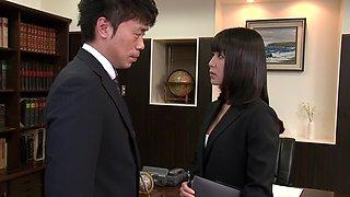 Nana Nanaumi in Company Presidents Secretary part 1