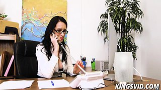 Angie Noir In Busty Boss Appreciation Day