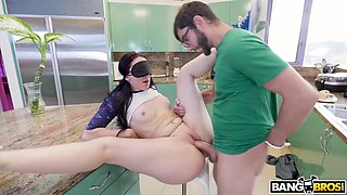 blindfolded mandy muse was fucked and tricked by her boyfriend