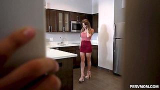 Beautiful Emily Addison gets throatpie in POV