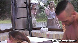 Danielle Soul in Italian Model Stella's Anal Threesome - EvilAngel