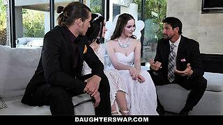 DaughterSwap Teen Brides Have Orgy Before Wedding
