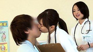 Kinky nurse orgy videos from a Japanese hospital